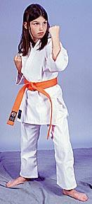 100% Cotton 6oz. Karate Uniform -- White